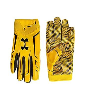 Under Armour Unisex UA Sport Glove Steelwown Gold/Black/White Football Gloves XXL