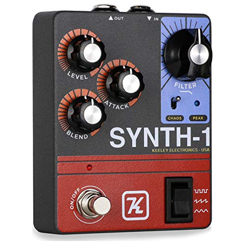 - Keeley Synth 1 Reverse Attack Fuzz Wave Generator Guitar Synth