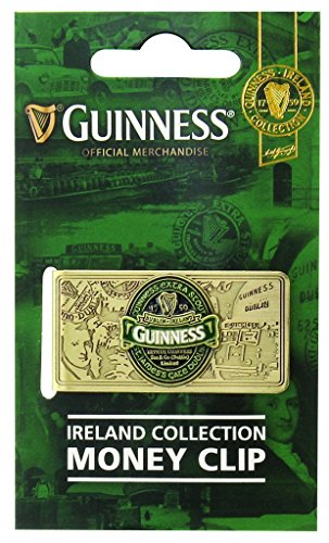 Guinness Green Collection Money Clip