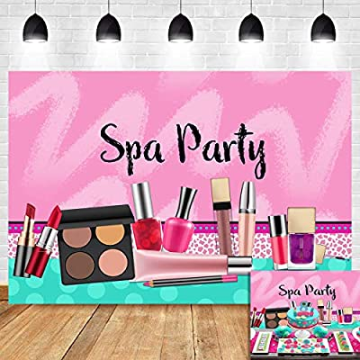 Sweet Pink Photography Backdrop Girls Spa Day Party Vinyl Princess Sweet 16 Birthday Decorations Makeup Favors Polka Dots Photo Background 5x3ft Photo Booth Studio Props Baby Shower Cake Table Banner Buy Online