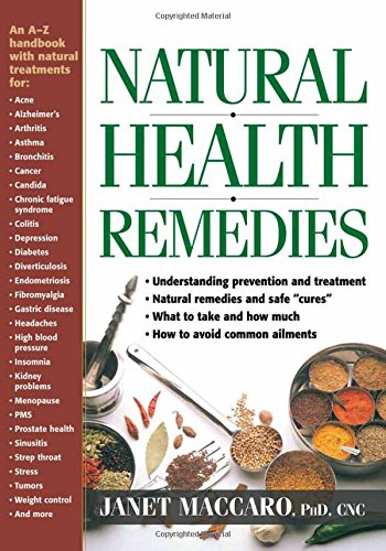 Read Online Natural Health Remedies: An A-Z handbook with natural treatments ebook