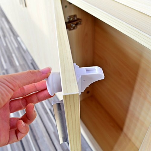 Baby Safety Lock - Quick and Easy Installation - No Drilling Required - Best Product For Baby Safety in Kitchen