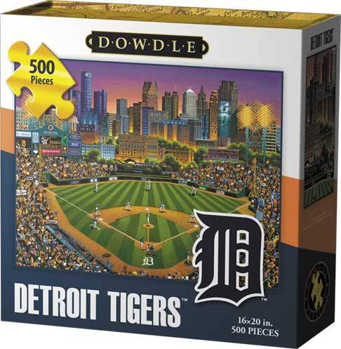 Best-selling Dowdle Folk Art Detroit Tigers Jigsaw Puzzle