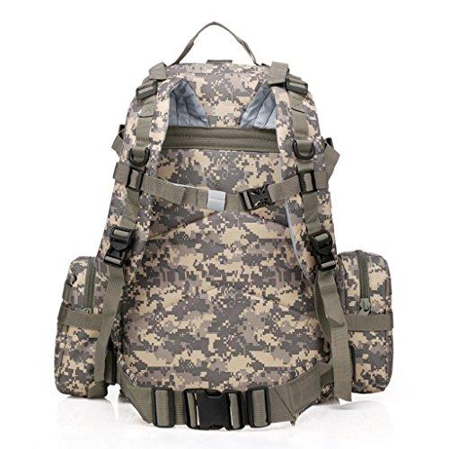Yisidoo Militaer Armee Tactical Rucksack fuer Wandern Sport Reisen Taktischer Rucksack