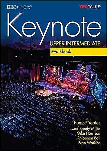 Keynote Upper Intermediate Workbook with Audio CD