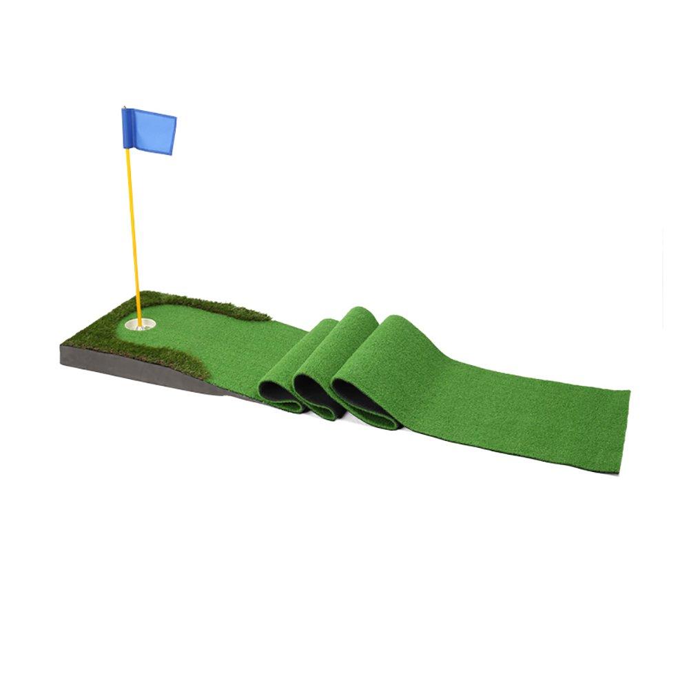 ゴルフPutt練習マットインドアフェアウェイウッド練習毛布3メートルロング  3# B077X182D9