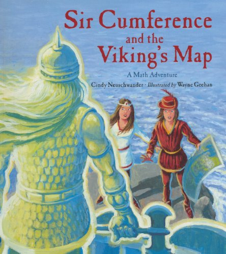 Sir Cumference And The Viking's Map (Turtleback School & Library Binding Edition) (Charlesbridge Math Adventures (Pb)) (Map Turtles)