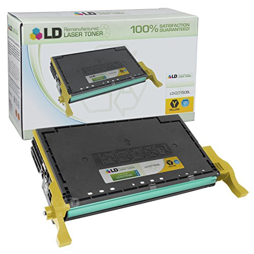 LD © Remanufactured Samsung CLT-Y508L / CST-Y508S (4,000 Page Yield) Yellow Toner Cartridge for CLP-620ND, CLP-670N, CLP-670ND, CLX-6220FX and CLX-6250FX