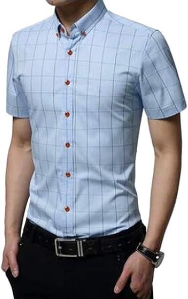 Overdose Camisas Hombre Lacoste Manga Corta Verano T Shirt Hombre Originales Slim fit Uní Color Oferta Italianas: Amazon.es: Ropa y accesorios
