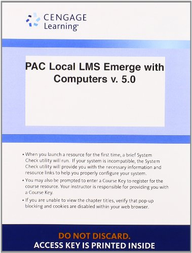 Local LMS Emerge with Computers v. 5.0, 1 term (6 months) Printed Access Card for Baldauf/Amer's Emerge with Computers v
