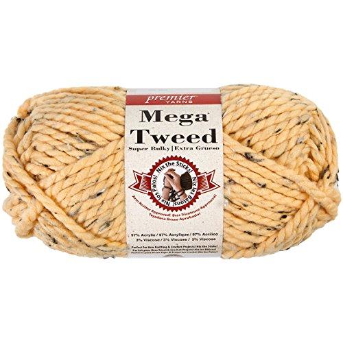 Premier Yarns 1007-15 Mega Yarn-Apricot Tweed