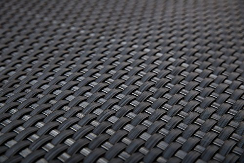 Papillon Rattan Weave Balcony Screening Artificial Garden Privacy Fencing 2m x 1.0m (6ft 7in x 3ft 3in) - Grey Primrose