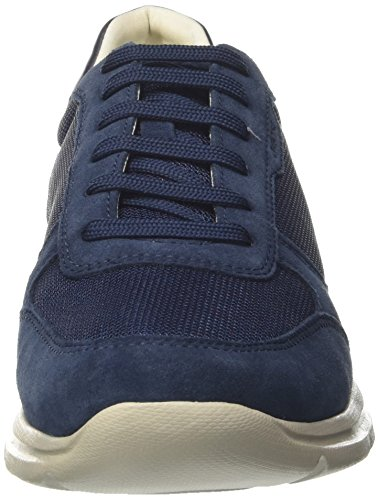 Geox Men's U Damian C Low-Top Sneakers, Blue Blue (Blue C4000)