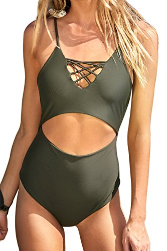 Cupshe Fashion Womens One piece Swimsuit
