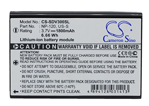 Battery Replacement for SONOCADDIE AutoPlay, V300, V300 Plus Part NO US-S
