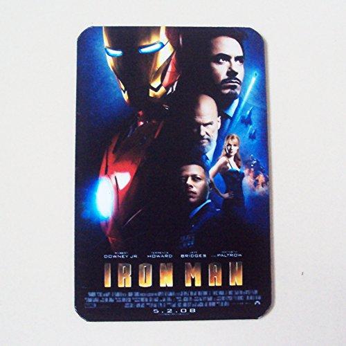 Agility Iron Man 1 Movie (2008) Art 1 Collectible Vintage Photo Fridge Magnet (Super Hero Morphsuits)