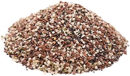 Mix semillas omega 3 BIO (chia, sesamo y lino) 500g: Amazon.es ...