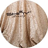 ShinyBeauty Aisle Runner Customize-100ftx3ft,Wedding Aisle Runner Ceremony Decoration Marriage Party Decor Carpet Roll-Champagne