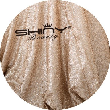 ShinyBeauty Aisle Runner Customize-100ftx3ft,Wedding Aisle Runner Ceremony Decoration Marriage Party Decor Carpet Roll-Champagne by ShinyBeauty