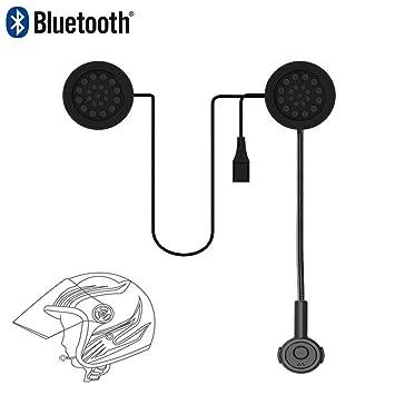 DUBAOBAO Casco Bluetooth inalámbrico para Casco de ...