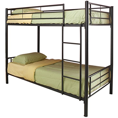 - Coaster Home Furnishings Denley Twin over Twin Bunk Bed Black
