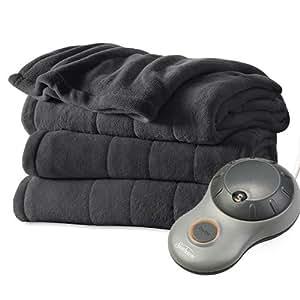 Amazon Com Sunbeam Heated Electric Blanket Channeled