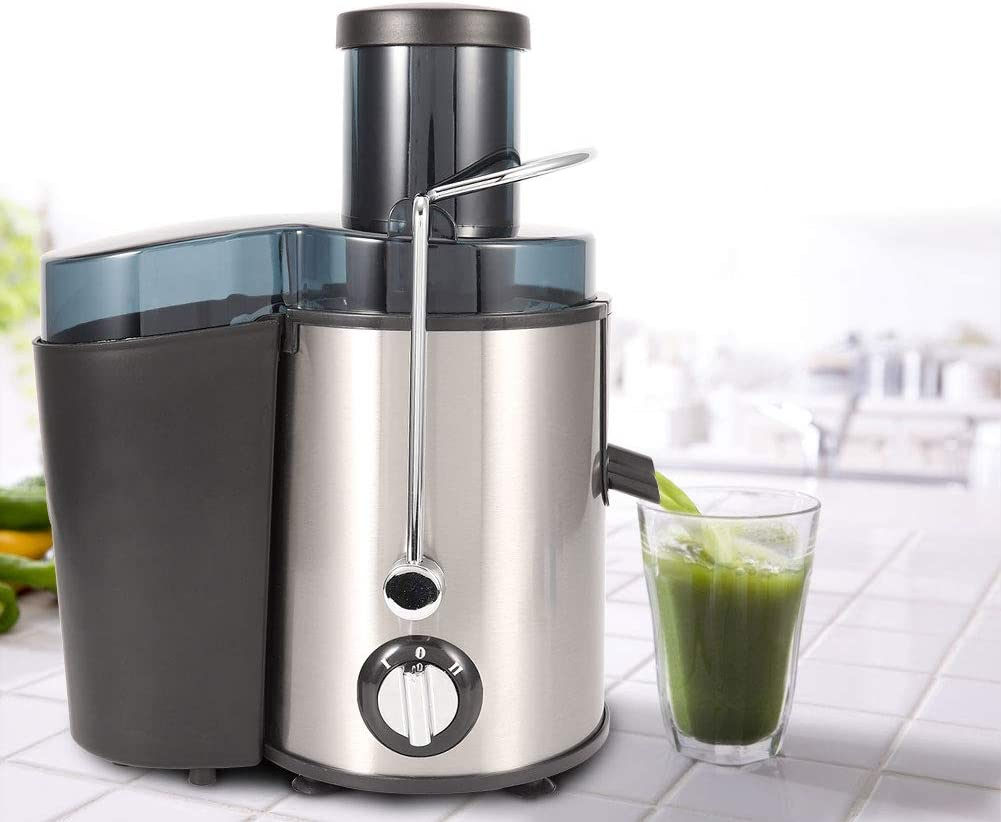 """500ML Centrifugal Juicer Machines,Whole Fruit VegetableJuice Extractor with Big Mouth 3"""" Feed Chute, 304 Stainless-steel Filter, High Juice yield, Easy to Clean"""