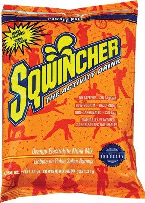 Sqwincher ORANGE 47.66 Oz Powder Pack (16/case) by Sqwincher