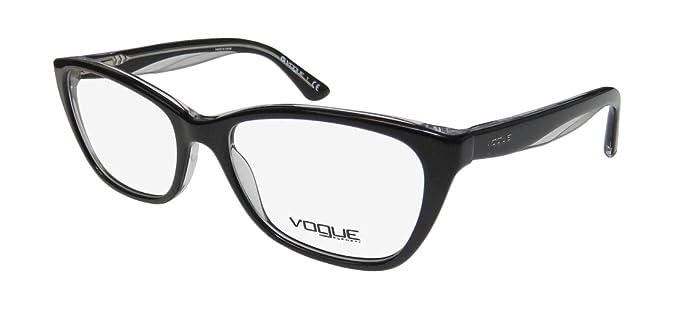 bc6d4477a6077 Vogue 2961 Womens Ladies Cat Eye Full-rim Spring Hinges Eyeglasses Glasses (
