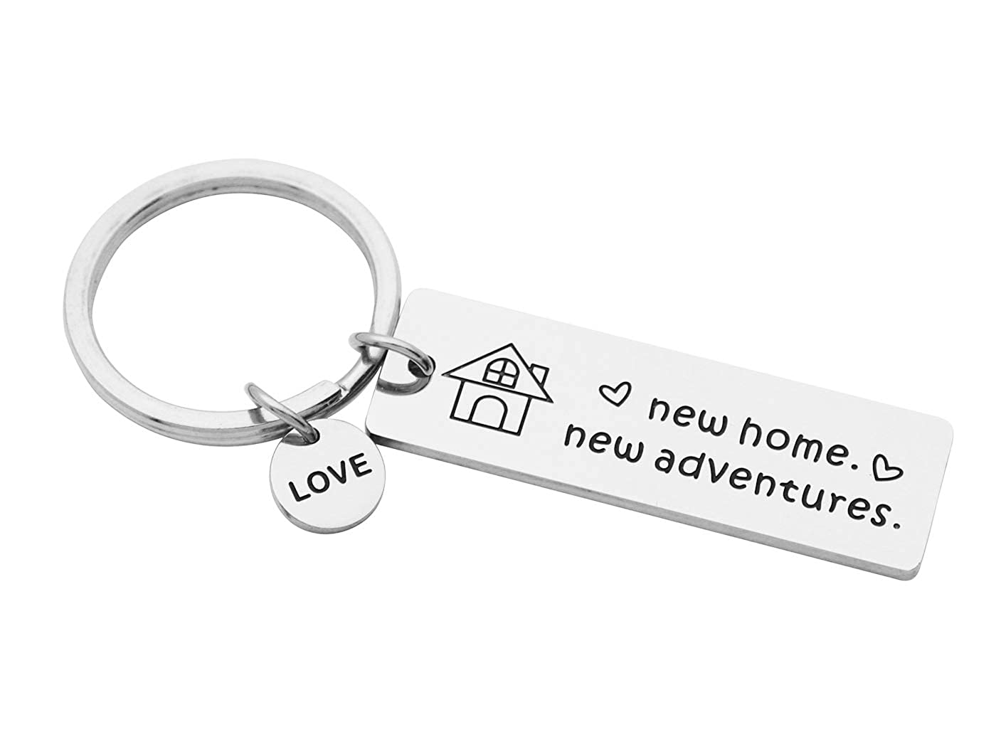 Amazoncom Eilygen New Home Keychain Housewarming Gift New Home New