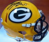 Eddie Lacy Signed Green Bay Packers Speed Replica Mini Helmet - PSA/DNA Authentication - Autographed NFL Football Helmets