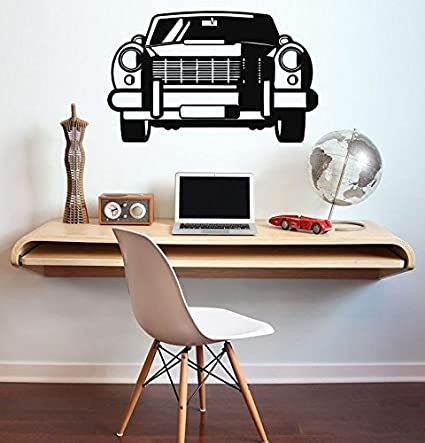 Vintage Car Vinyl Decal Vintage Car Wall Sticker Home ...