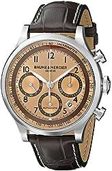 Baume & Mercier Men's BMMOA10045 Capeland Analog Display Mechanical Hand Wind Brown Watch