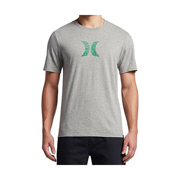 35b0de1a37 Hurley MTS0023530 Men's Icon Push Through T-Shirt