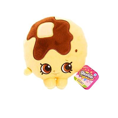 NEW! Shopkins Pancake Jake Bean Plush: Toys & Games