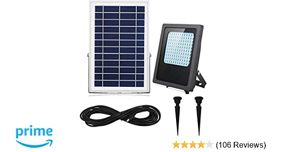 Solar Flood Lights Outdoor Indoor 120leds 1000lumen Rechargeable Solar Powered Led Security Light Ip65 Waterproof Auto On Off For
