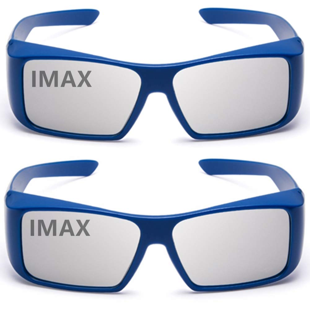 32d52ab6eb04 Amazon.com  Carefully Designed 3D Glasses For Movie Cinema Theater(IMAX)2PACK   Electronics