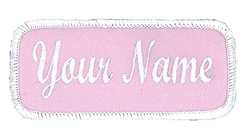 (Name Patch Uniform or Work Shirt, Personalized, Embroidered, Multiple Styles )