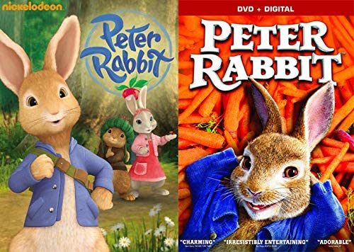 Shake Your Cotton Tail 2 Movie Bundle Peter Rabbit 2018 Movie Peter Rabbit Nickelodeon 8 Tales Bundle 2 Pack Amazon Co Uk Dvd Blu Ray