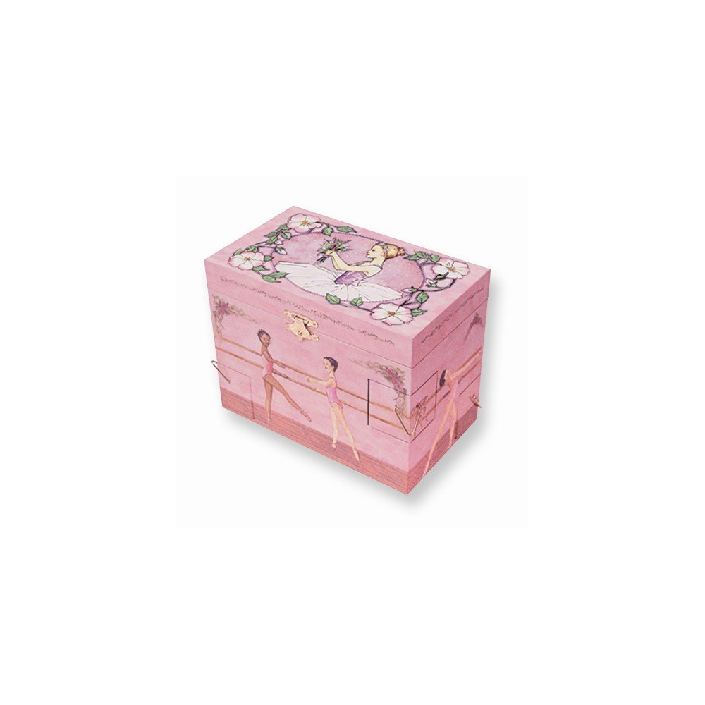 Perfect Jewelry Gift Childrens Ballet School Musical Jewelry Box