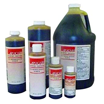 Aplicare 82-212 PVP Scrub Solution, Flip-Top Cap, 4 oz