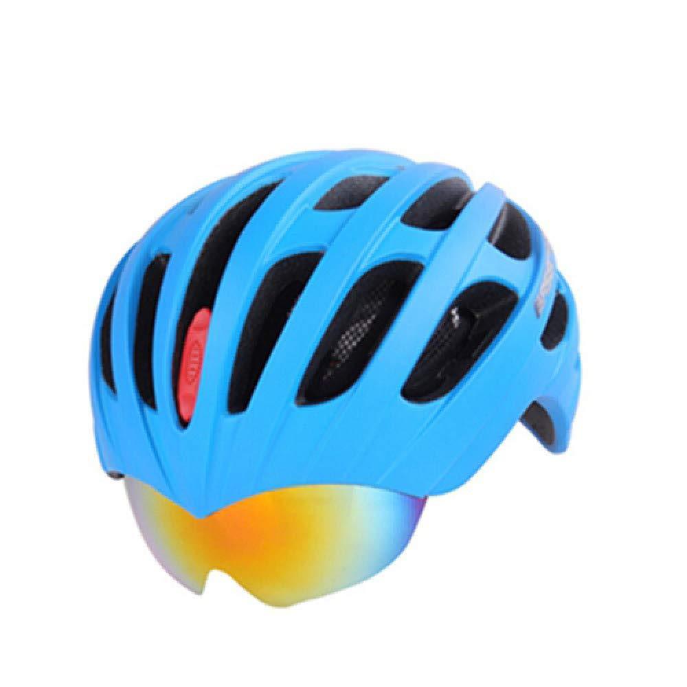 LOLIVEVE Fahrradhelm Goggles Fahrradhelm Ultralight Radfahren Helme MTB Sicherheit Helme Sicherheit