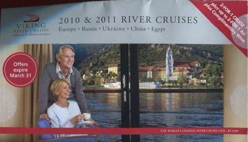 Viking River Cruises  2010   2011 River Cruises  Europe  Russia  Ukraine  China  Egypt