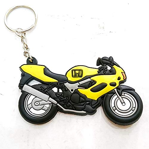 Motorcycle Rubber Keychain For Aftermarket Universal Bike Accessories For Example Sport Bike Street Bike honda CBR RR CB Cbr 250 500r 600rr 650 954 900 919rr 1000rr 1100 400 Enthusiasts Collection