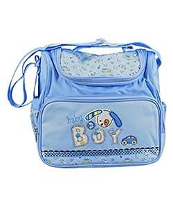 Amazon.com : Baby Essentials Blue Diaper Bag : Baby