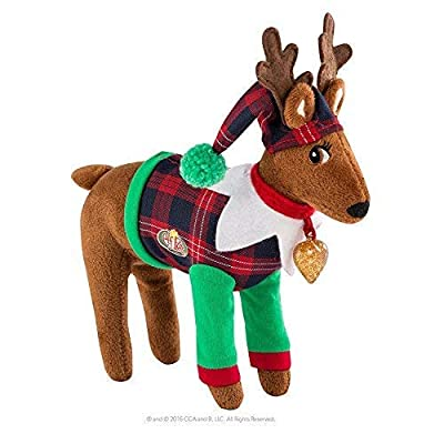 Elf on The Shelf Claus Couture Playful Reindeer Pjs Novelty, Red/Green: Toys & Games