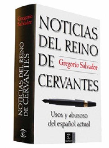 Amazon.com: Noticias del reino de Cervantes (Spanish Edition ...