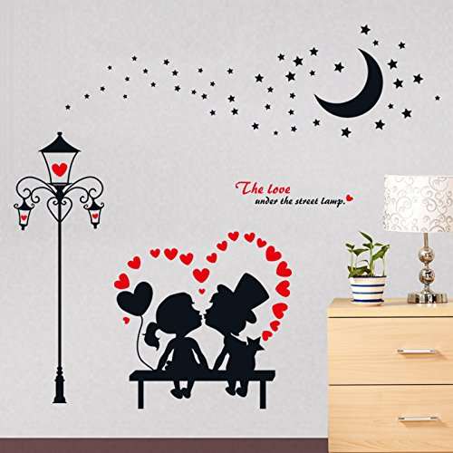Wall Decals European Style PVC Wall Stickers - 5