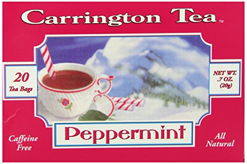 Carrington Tea, Peppermint, 20 Tea Bags (Pack of 6)