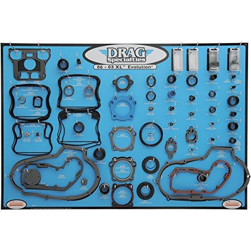 DRAG エンジン ガスケット ディスプレイ ボード 86年-03年 XL 0934-1667   B01M1NES1N